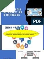 INVESTIGACION DE MERCADOS II 6ta parte