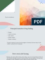 Presentazione Software Fuzzing