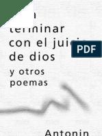 Para terminar con el jucio de Dios y otros poemas