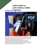 mecanica alemana para motos colombianas
