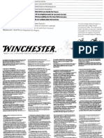 Winchester Model 94 Owners Manual