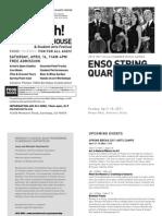 Enso String Quartet Program