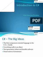 Introduction to C_sharp