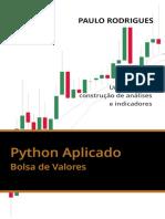 Python Aplicado Na Bolsa de Valores - Um Guia Para Construção de Análises e Indicadores