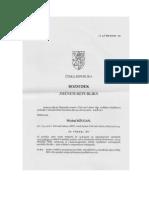 Michal Džugan - šalvěj divotvorná - rozsudek