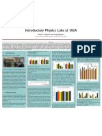 Teaching Research Poster at UGA