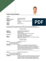 CV Sergio Vélez