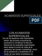 ACABADOS SUPEFICIALES