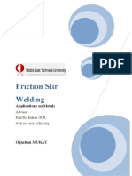 Oğuzhan MURAT- Friction Stir Welding