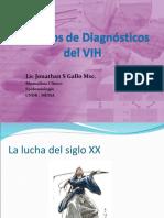 Metodos de Diagnostico Del Vih en Nicaragua