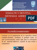 ACONDICIONAMIENTO DE ESMALTE Y DENTINAminehaha