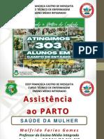 (9) Assistência TRABALHO DE PARTO 2021