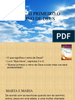 BUSCAI PRIMEIRO O REINO DE DEUS