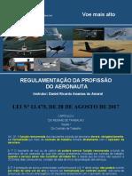 Regulamentação da Profissão do Aeronauta 2