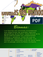 Presentación Biomas 802