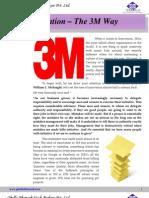 Innovation The 3M Way