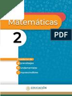 Aprendizajes Fundamentales Imprescindibles Matemáticas 2°