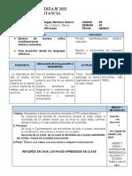 SESIÓN DE APRENDIZAJE - M DANZA 1GRADO U5 S3 - MISS MAGALY MENDOZA