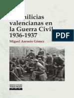 Las Milicias Valencianas en La Guerra Civil WEB