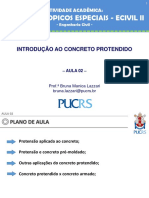 AULA 02 - Aplicações do Concreto Protendido