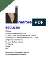 Padrões de Sedução - Speed Seduction Traduzido em português