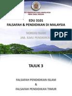 Tajuk 3 - Falsafah Pendidikan Islam & Timur