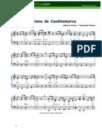 Himno de Cundinamarca