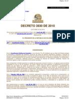 Decreto 3930 del 2010