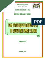 03 Plan stratégique de développement du secteur de l'énergie (validation technique)