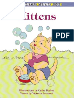 Dover Beginners Activity Books - Kittens