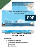situacion de la contaminacion en guatemala