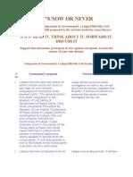 LOK PAL BILL- Coparision of Govt Bill and Civil Society Bill