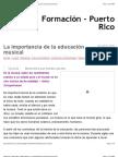 Formación – Puerto Rico – Blog Universia » La importancia de la educación musical