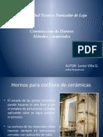 Construcción de Hornos-Metodos y materiales