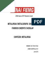 2_Curso_Metalurgia_e_Metalografia_Ferro_fundido_Junho_2015_metalurgia
