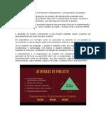 PCP_Notas sobre Dica do Professor_Planejamento e programação de projetos