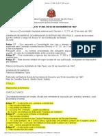 decreto n.17.698, de 26.11.1947 - consolidação das leis e normas do ensino (diretor de escola)