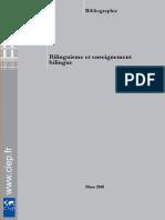 Bilinguisme Et Enseignement Bilingue