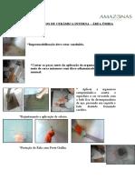 PROCEDIMENTOS DE CERÂMICA DE PAREDES