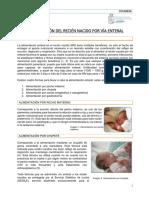 5. Alimentacion Del Recien Nacido Por via Enteral