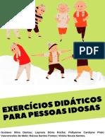 Cartilha Exercícios Didático para Pessos Idosas