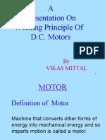 working principle of dc motor