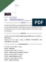 himanshu rohilla resume