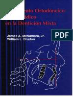 Tratamiento Ortodoncico y Ortopedico en La Dentincion Mixta