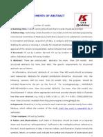 Abstract format for haligi