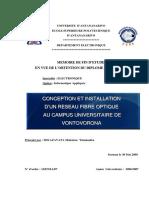 Conceptiion Et Iinstallatiion d'Un Reseau f.o
