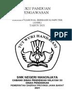 buku panduan pengawasan UNBK