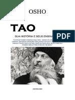 Osho - Tao - Sua História e Seus Ensinamentos