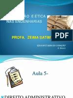 Aula 5- Ua5- Direito Administrativo
