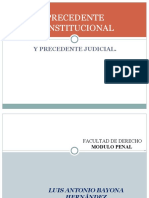 1_3_ Precedente Constitucional y Precedente Judicial